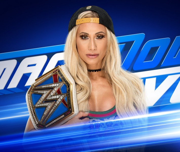 "Carmella promises to ""unmask"" Asuka on SmackDown LIVE"